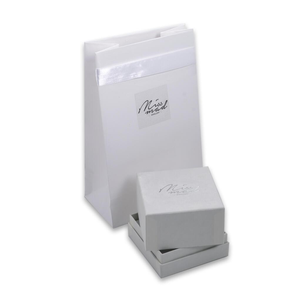 Συσκευασία πολυτελείας Miss Mad Jewellery λευκή εκδοχή